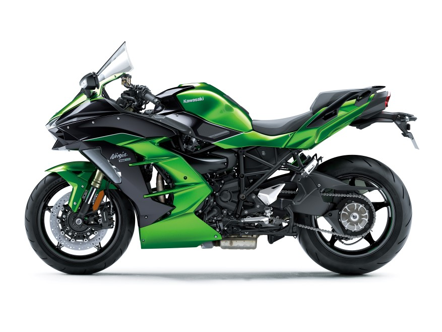 Kawasaki Ninja H2 SX y SE. Fotos