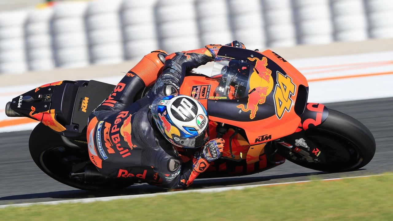 Los pilotos de MotoGP 2018, en Valencia