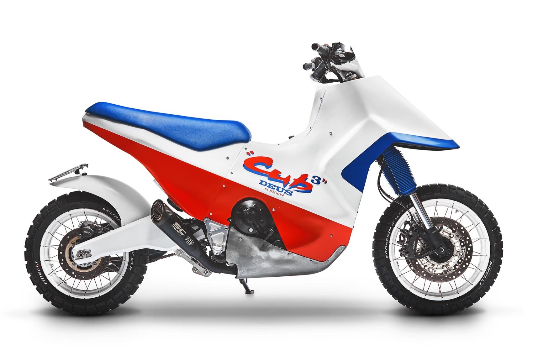 Honda Cub Cubed, X ADV de los 90