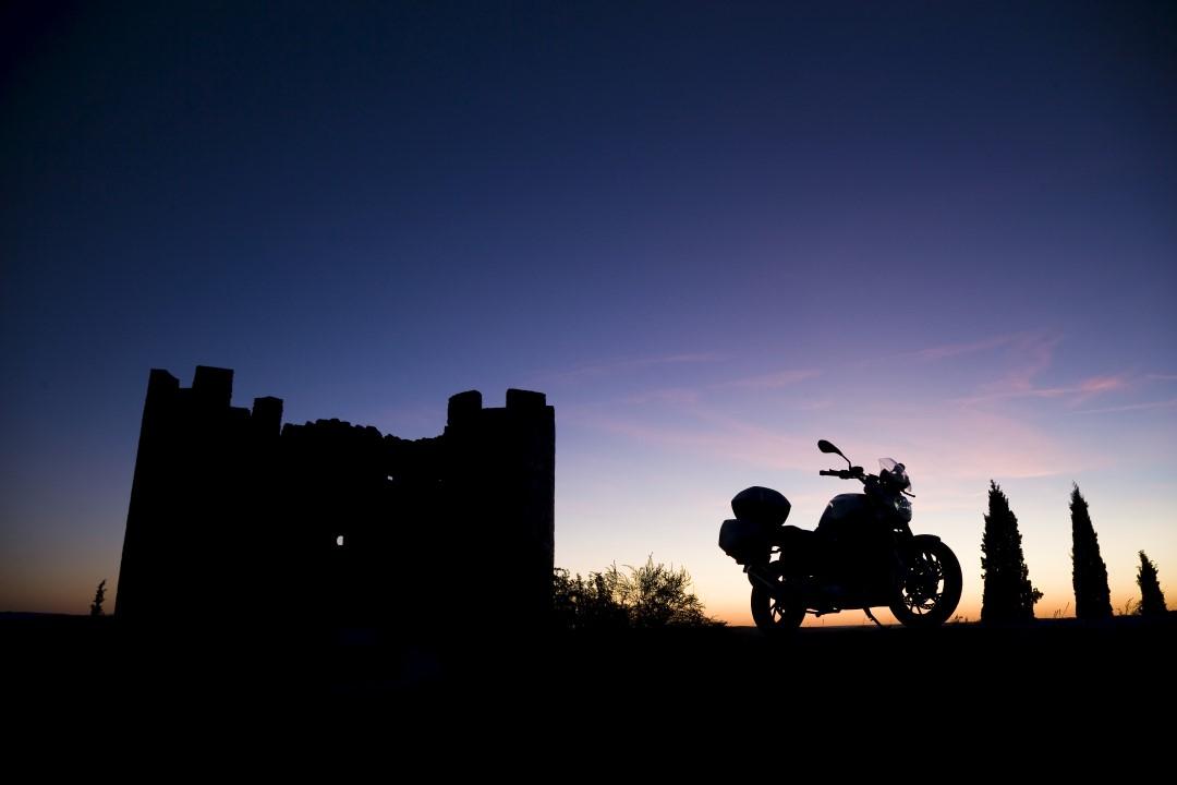 Ruta en moto por la Ribera Burgalesa con Ruralka