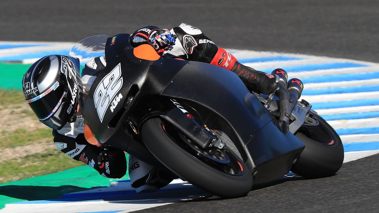 Los pilotos de Moto2 2018, en Jerez