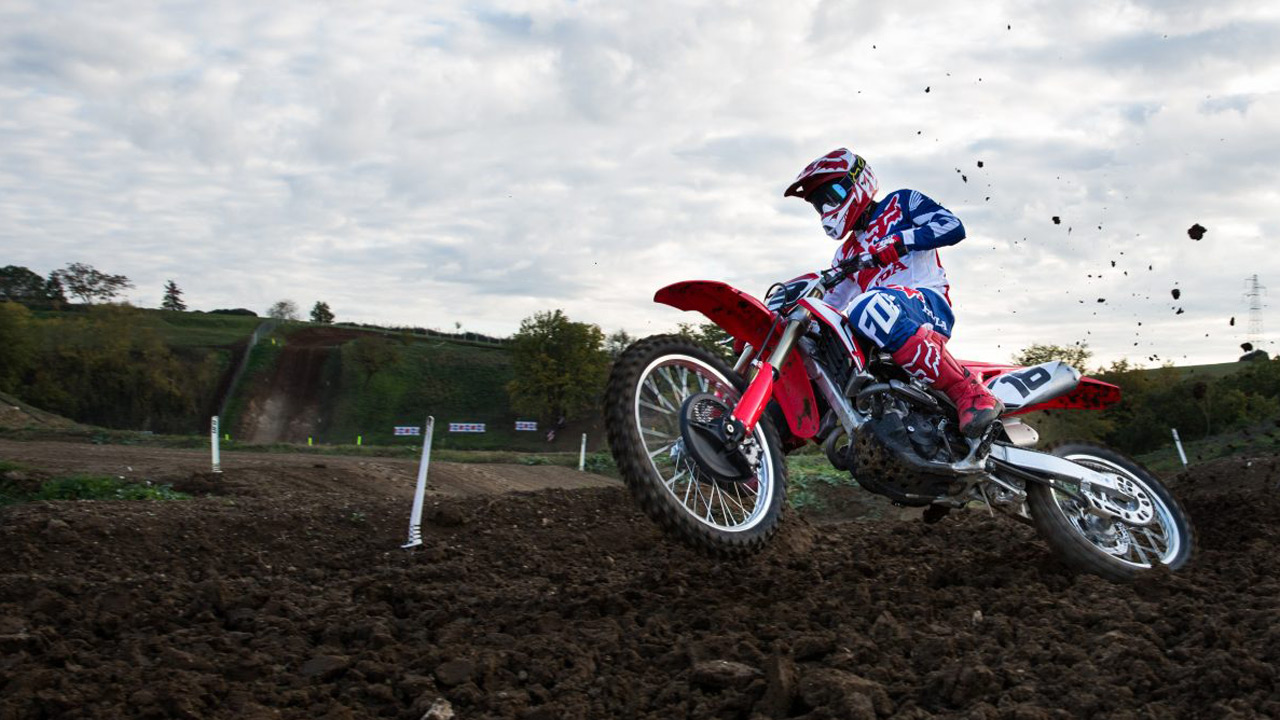 Fotos prueba Honda CRF 250 2018