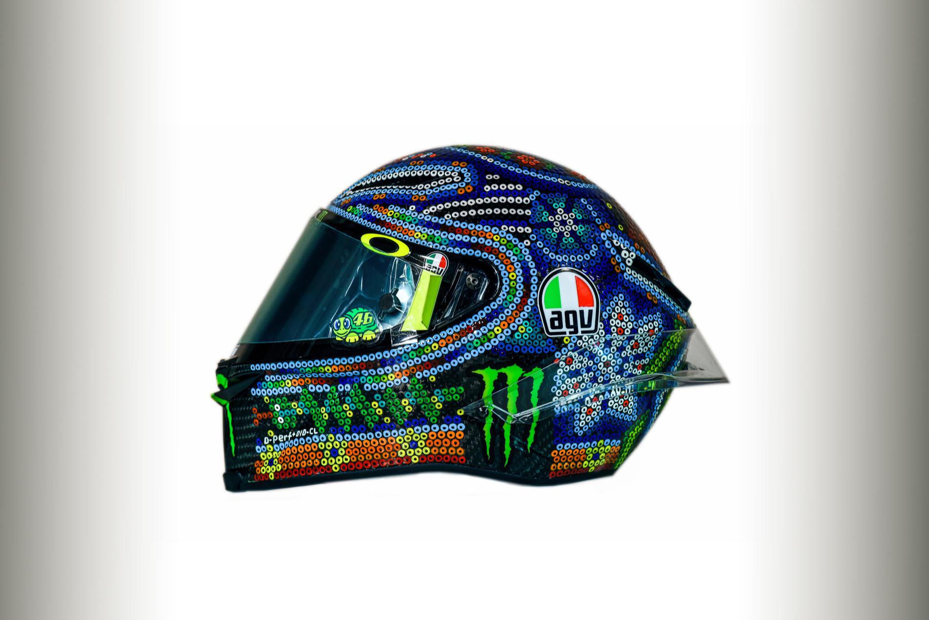 AGV Valentino Rossi inspirado en México