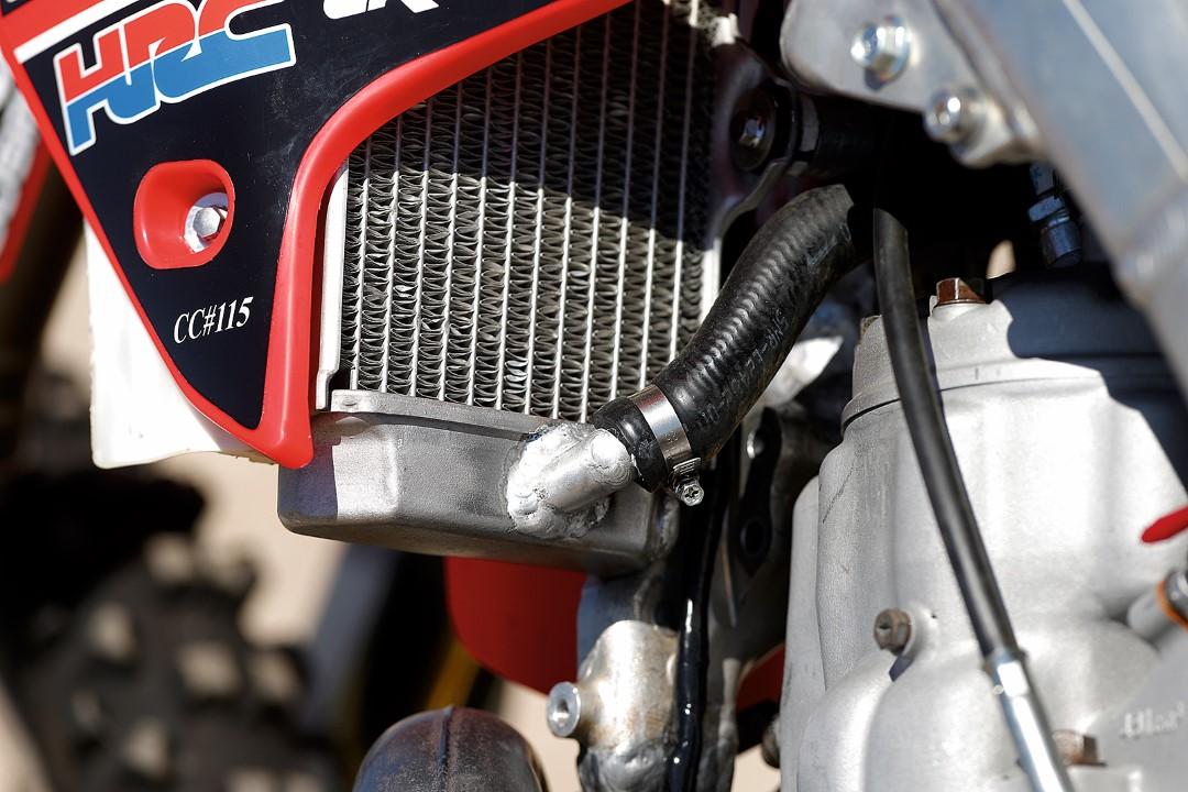 Fotos prueba Honda CR 500 Goby