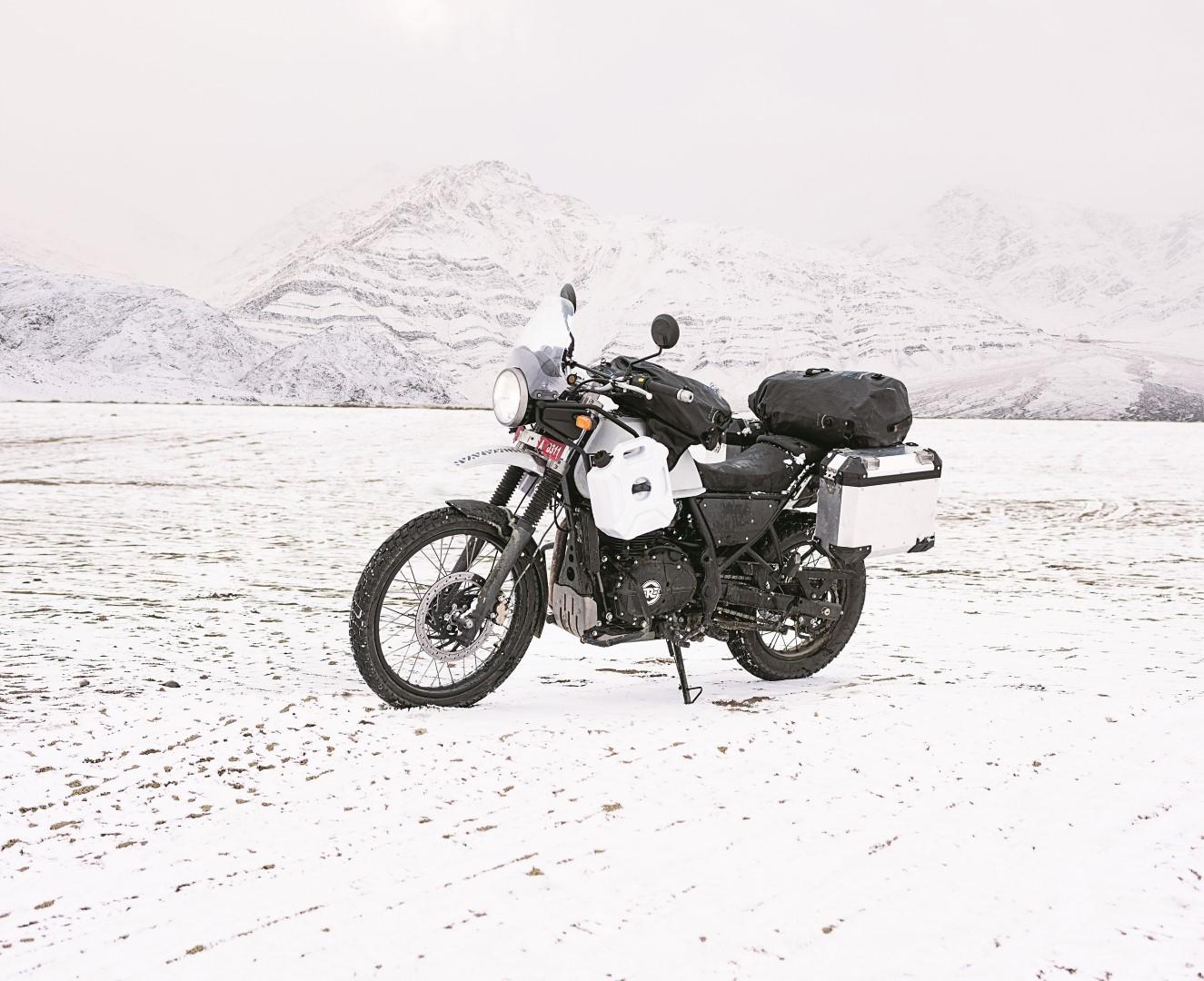 Royal Enfield Himalayan 410, fotos