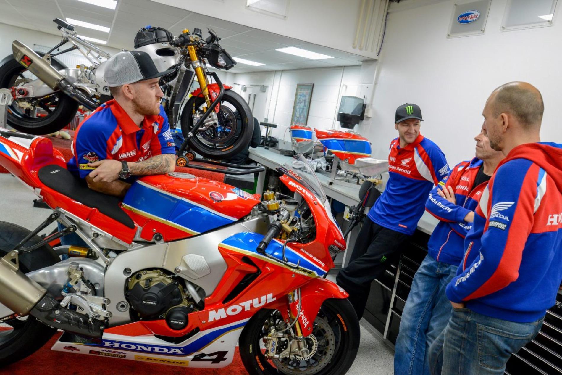 Equipo Honda Racing para Road Races