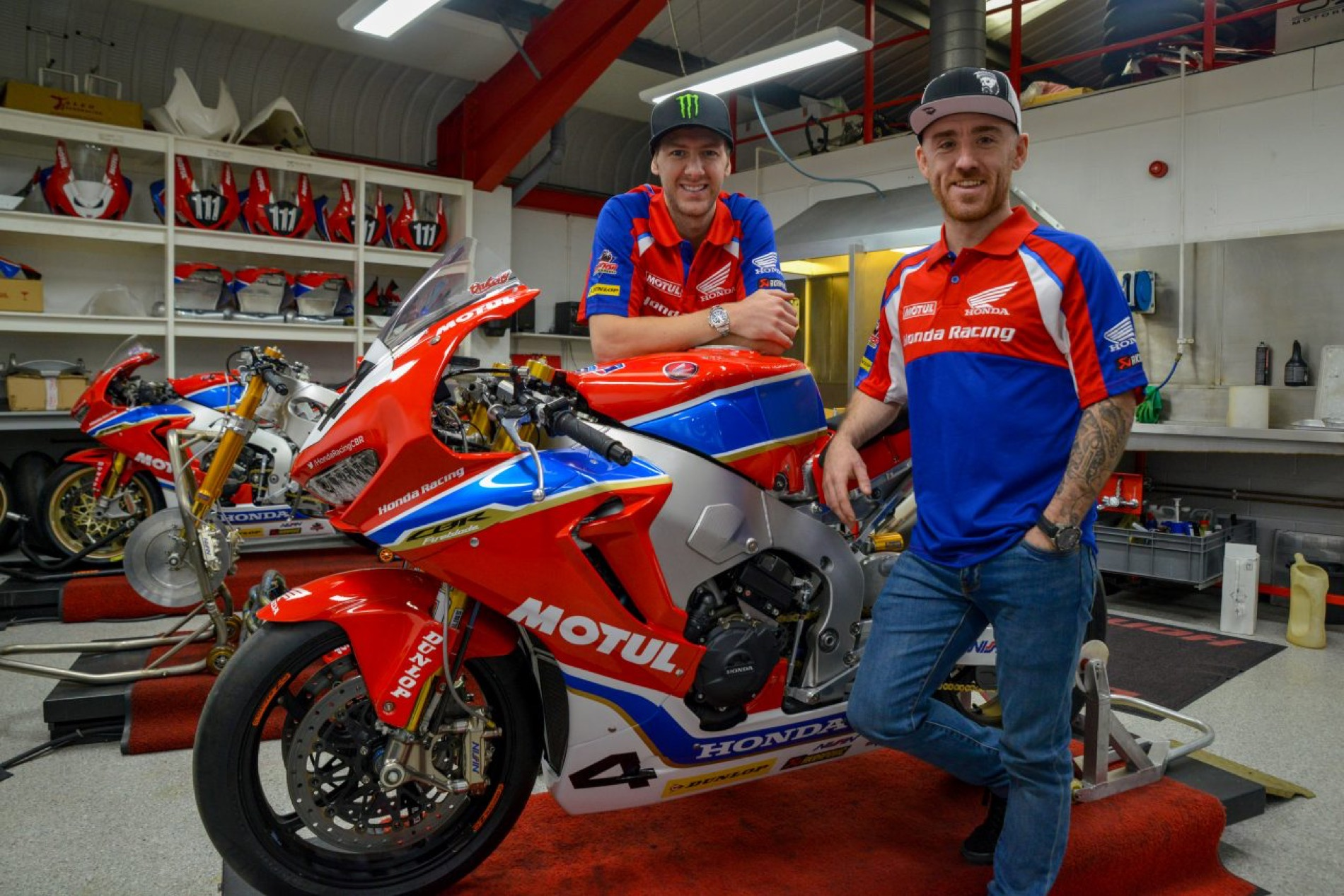 Equipo Honda Racing para Road Races