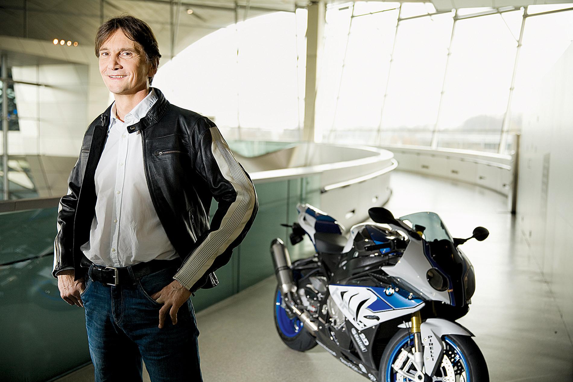 Edgar Heinrich, director de diseño de BMW
