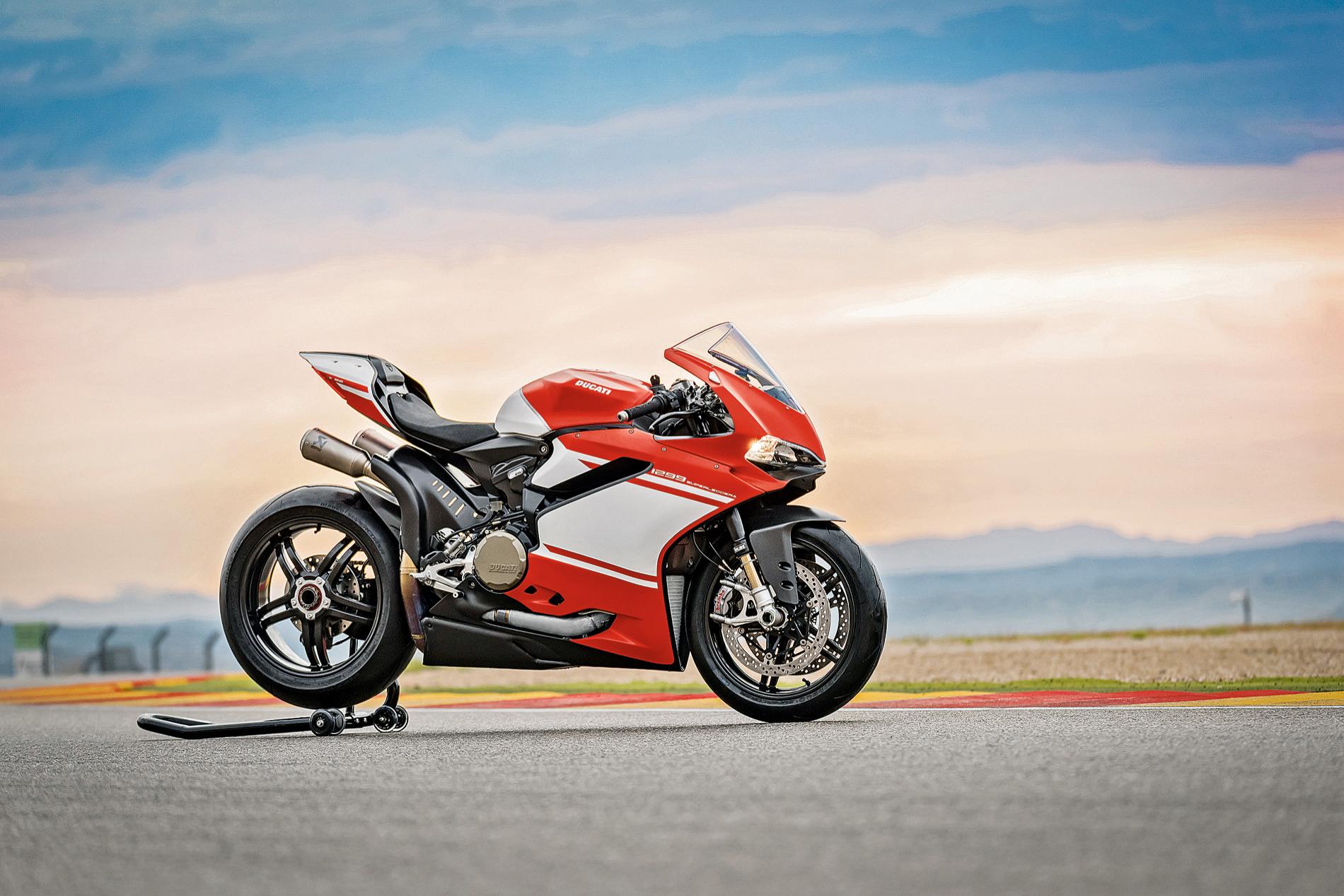 Ducati 1299 Superleggera, prueba