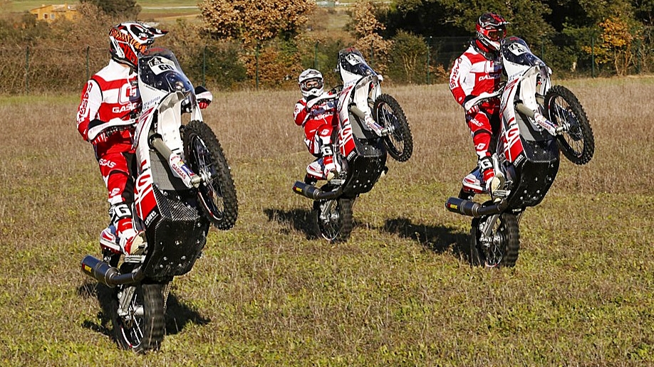 Las motos del Dakar 2018
