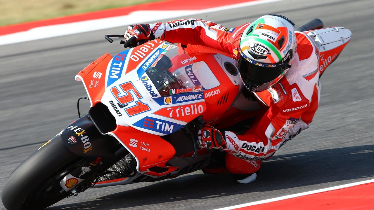 Los probadores de MotoGP 2018