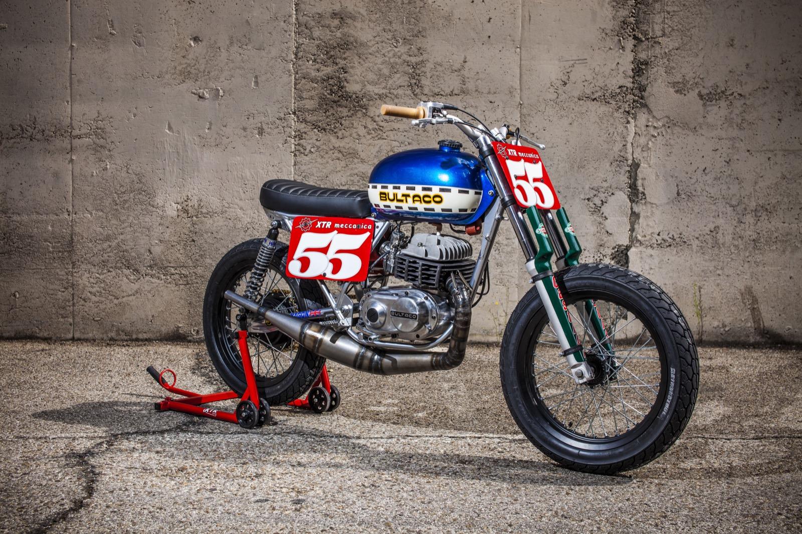 Bultaco Lobito 125 MK7 por XTR