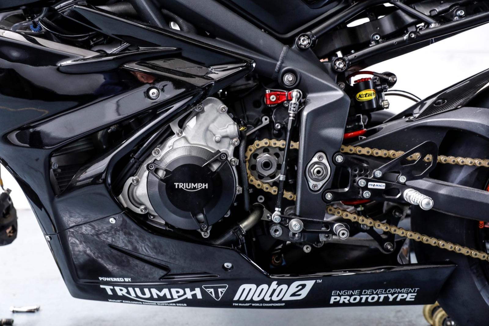 Triumph Moto2, prueba en exclusiva