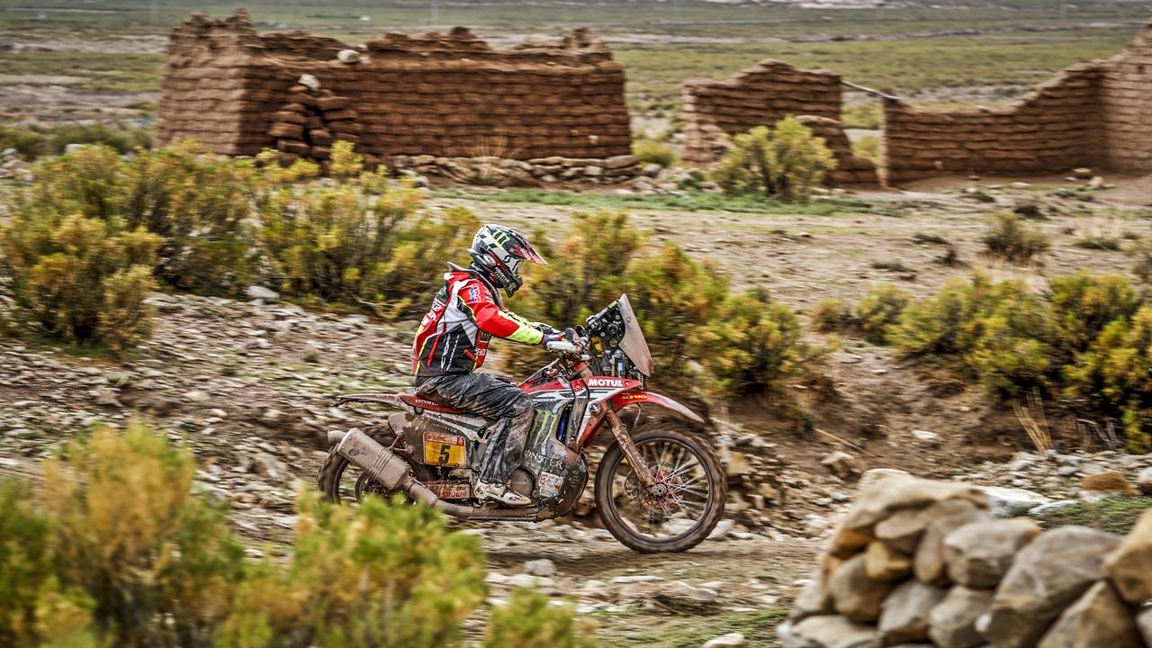 Joan Barreda en el Dakar 2018