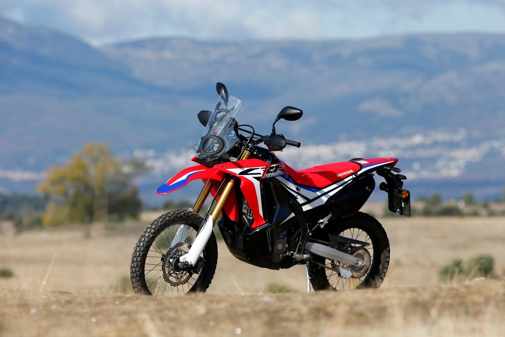 Honda CRF250 Rally. Fotos