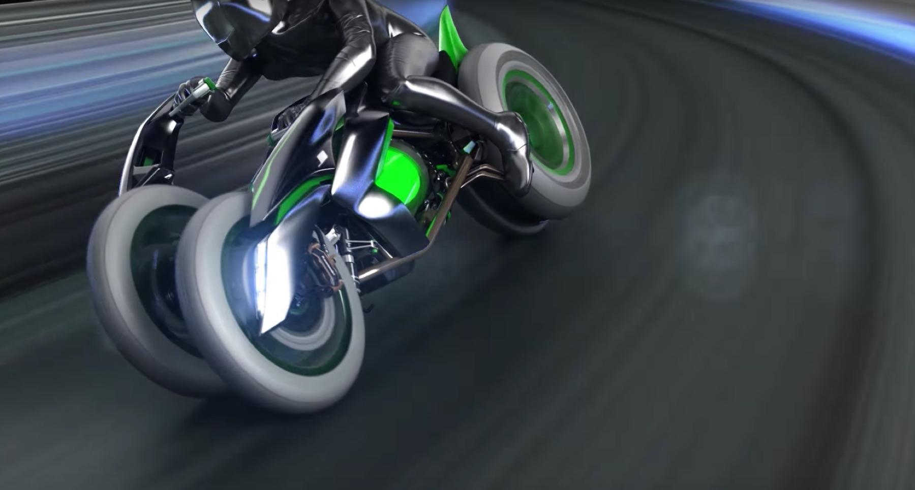 Kawasaki J Concept, tres ruedas para el futuro
