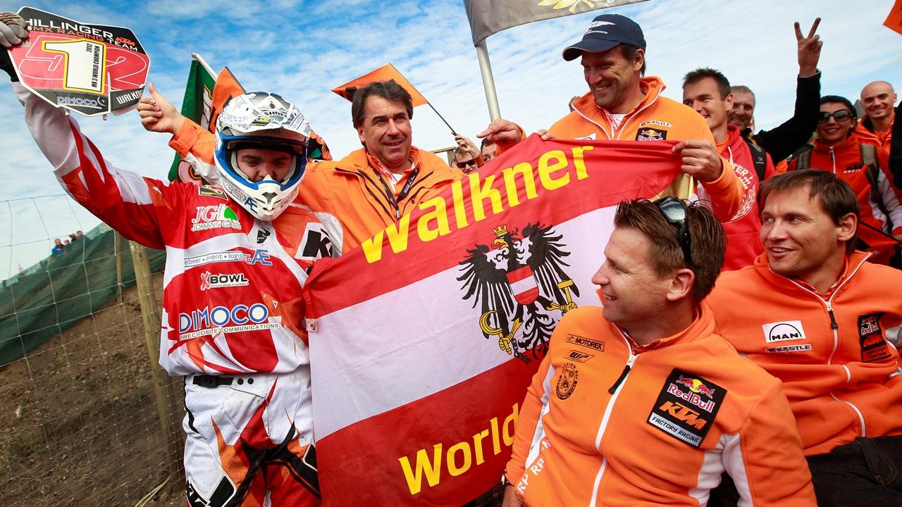 Matthias Walkner, de MX3 al Dakar