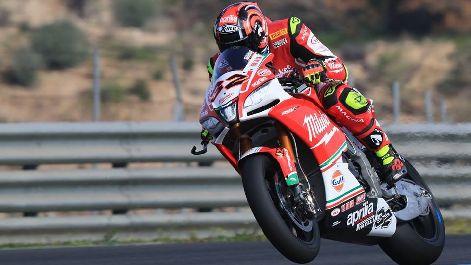 Los pilotos del Mundial de Superbike 2018 en Jerez
