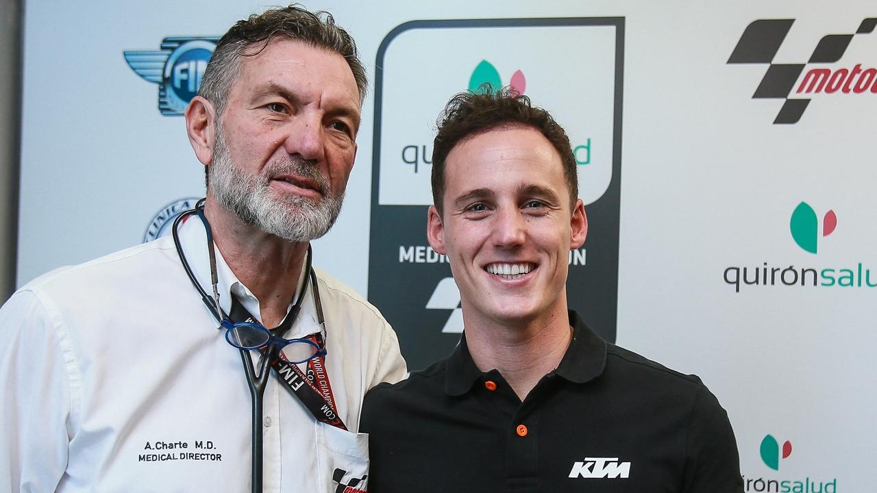 Reconocimiento médico en MotoGP