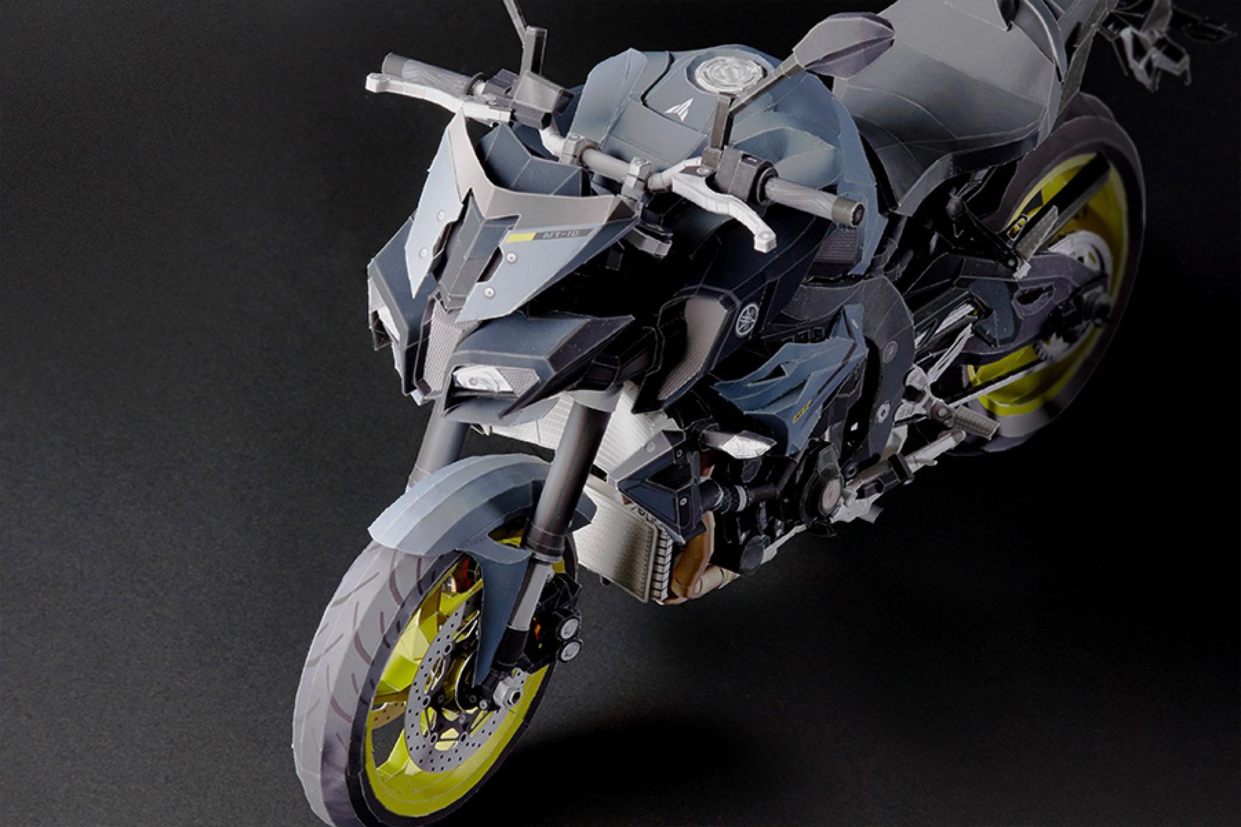 Origami Yamaha ultra realista