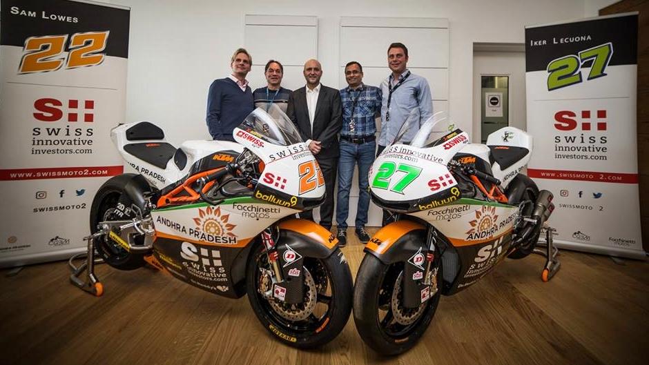 Las KTM Moto2 2018 del CGBM Evolution