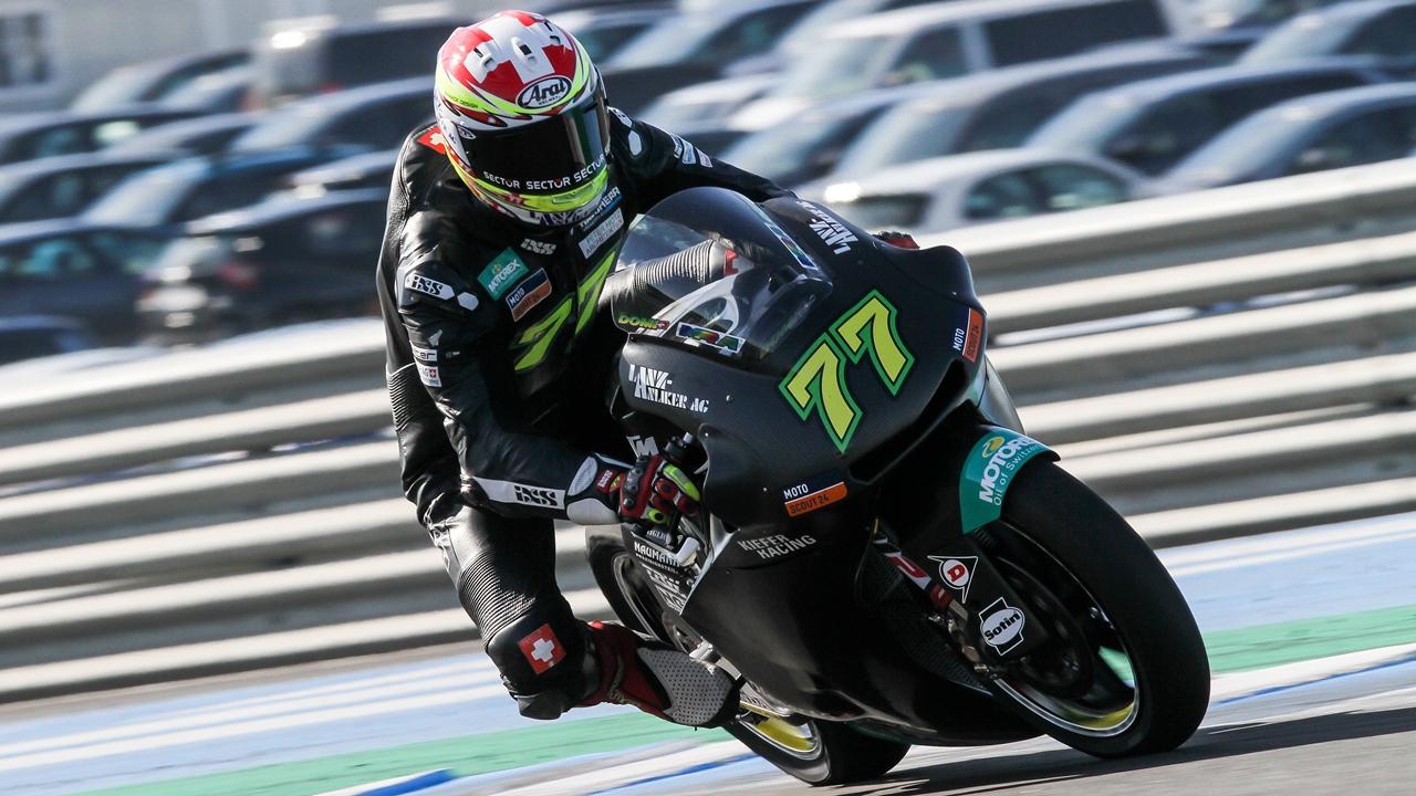 Moto2 2018 test Jerez