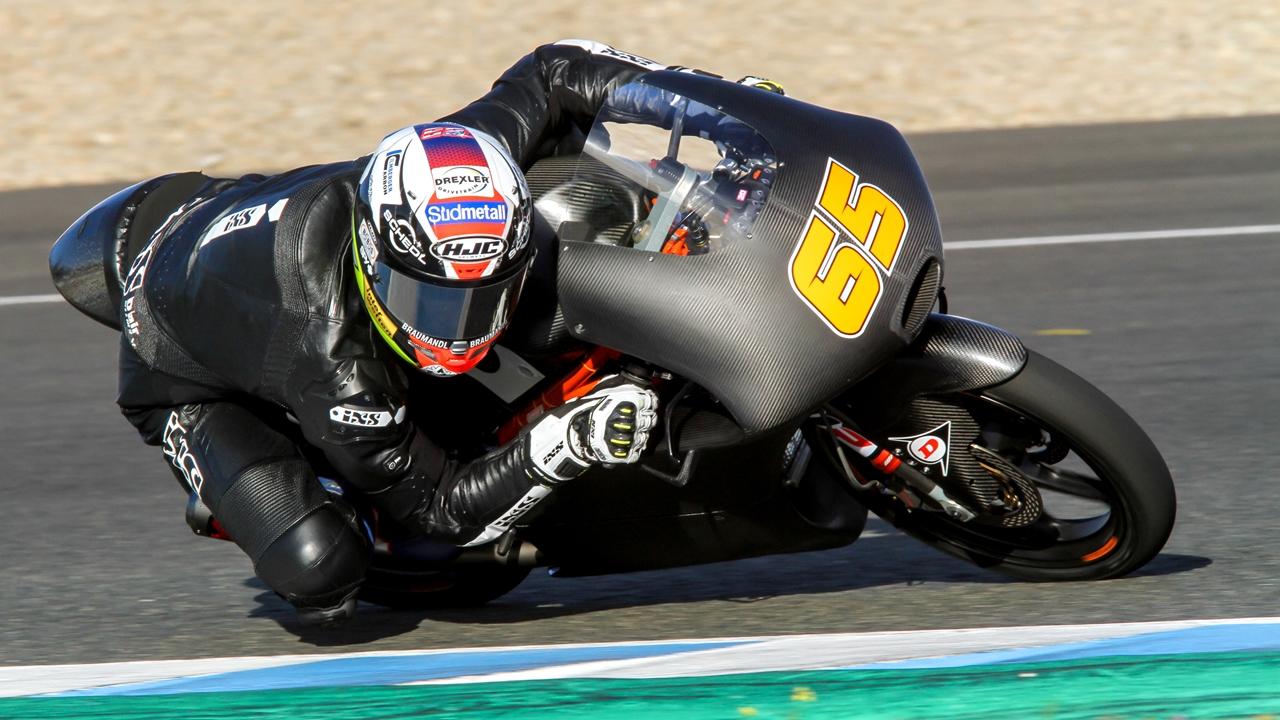 Moto3 2018 test Jerez
