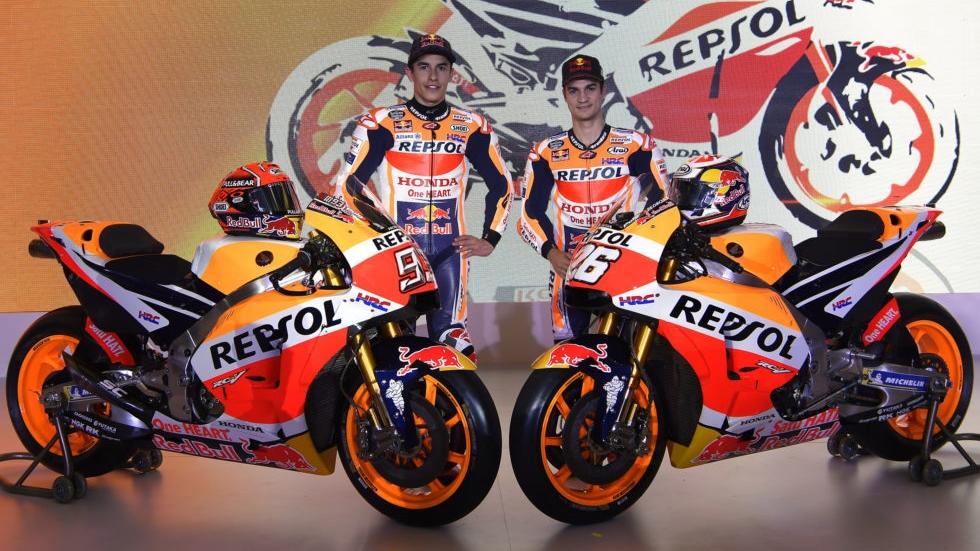 Presentación Honda RC213V 2018 MotoGP