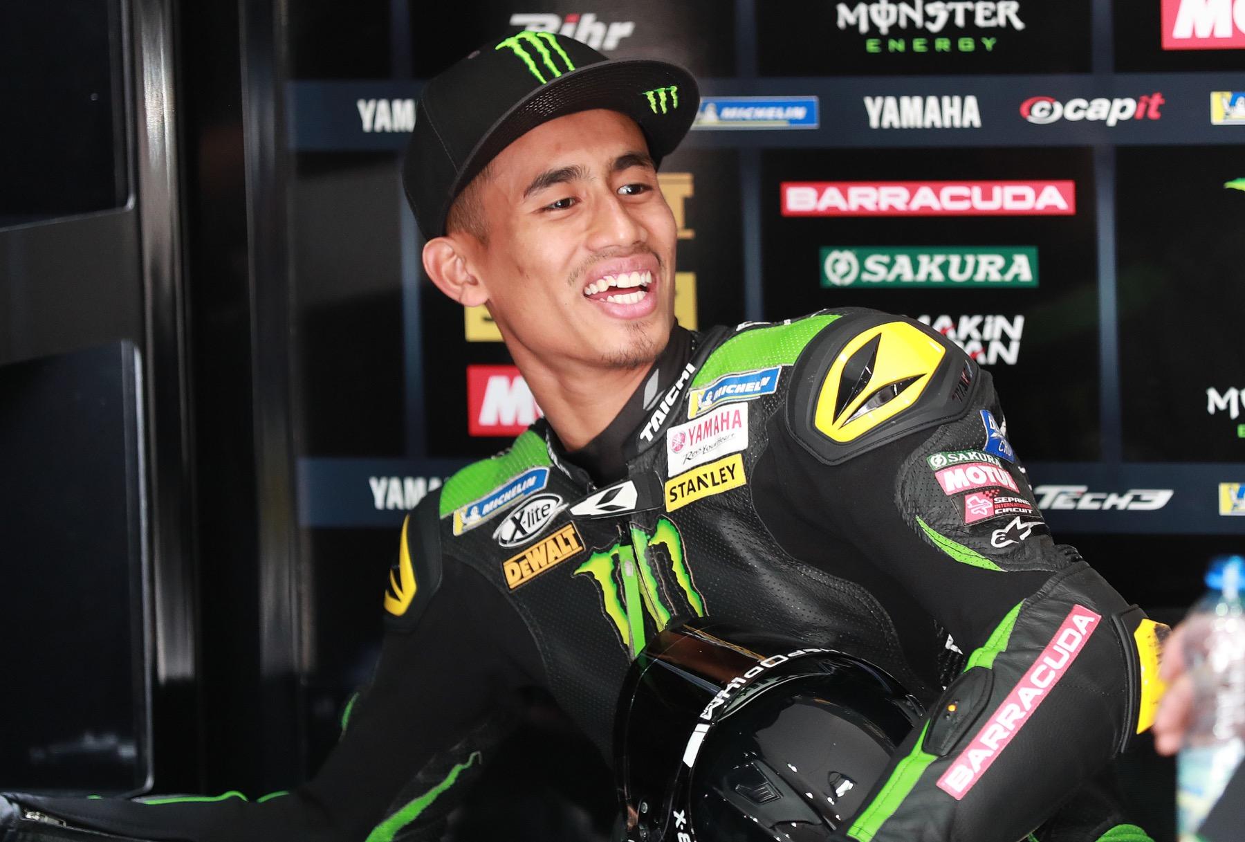 Test de Yamaha MotoGP en Qatar