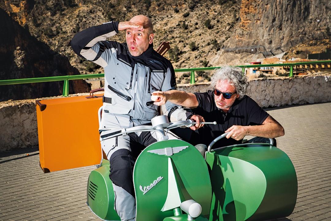 Ruta en moto por las Sierras de Júcar y Segura con Ruralka