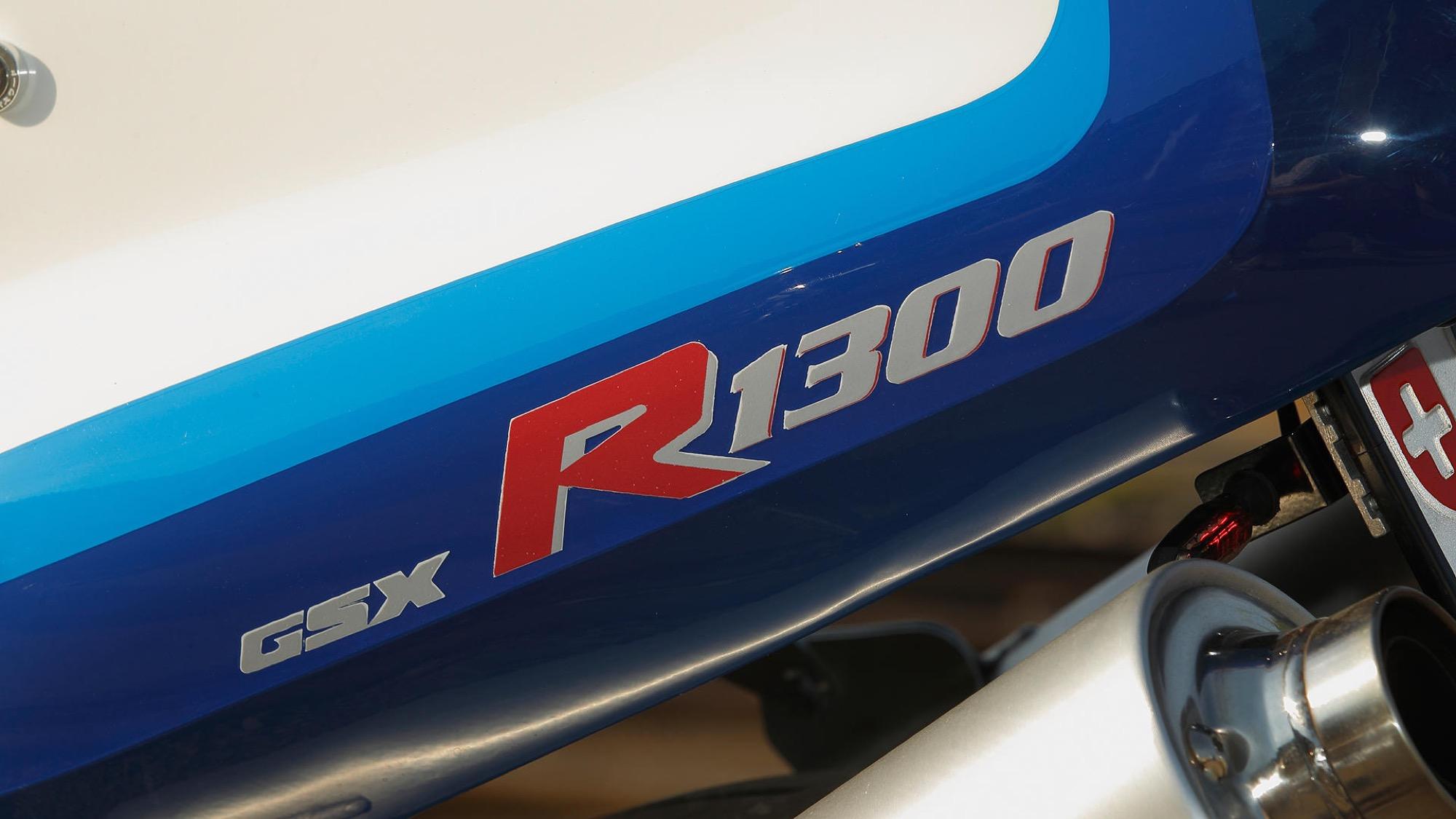 Suzuki Hayabusa transformada en GSX-R del 89