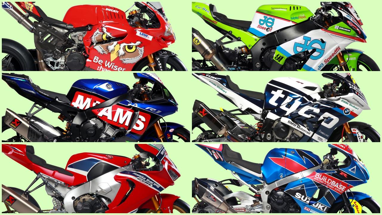 Las motos del BSB 2018
