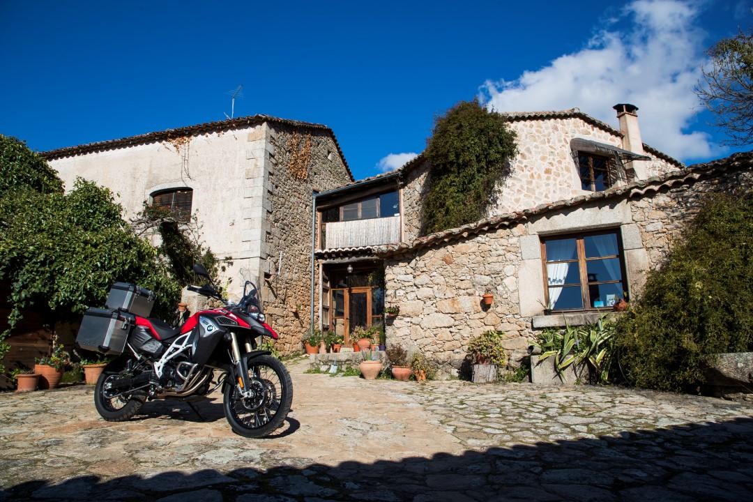 Ruta en moto por la Sierra de Gata con Ruralka