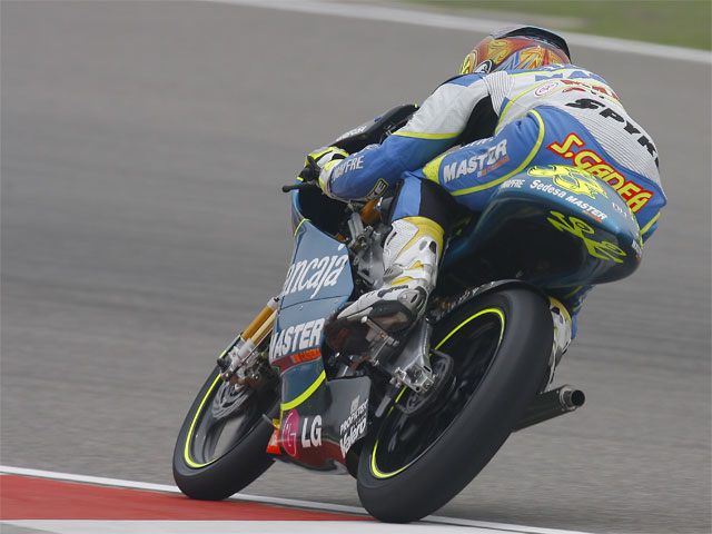 GP de China. Carrera de 125