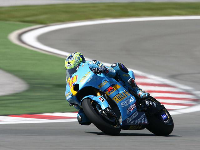 """""""Aspar"""" con pie y medio en MotoGP"""