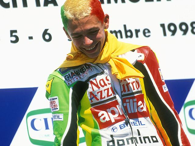 Rossi camino de récord