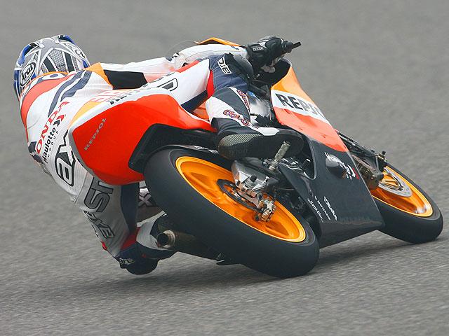 GP de Francia. 125, entrenamientos.