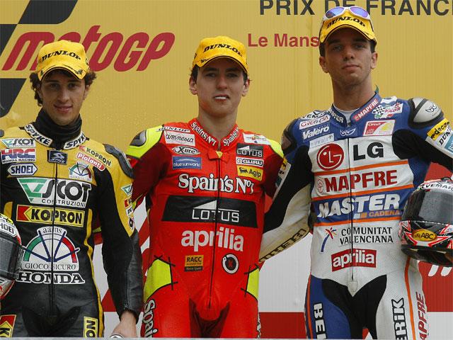 GP de Francia. 250, carrera