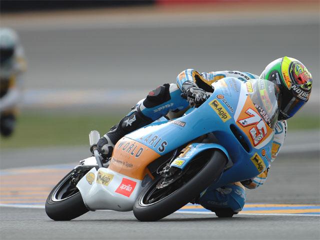 GP de Francia. 125, carrera
