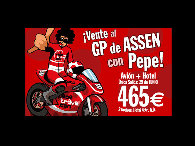 Al GP de Assen con Pepetravel
