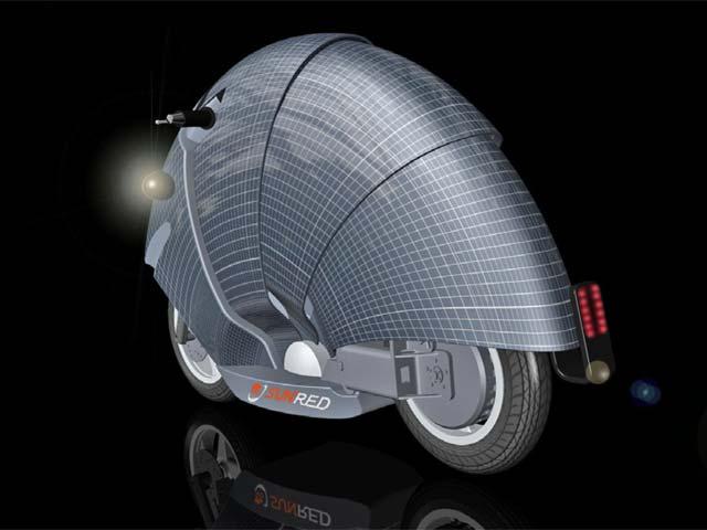 Sun Red, un modelo de moto solar