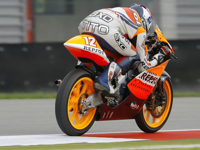 Test de Repsol Honda Team en Brno