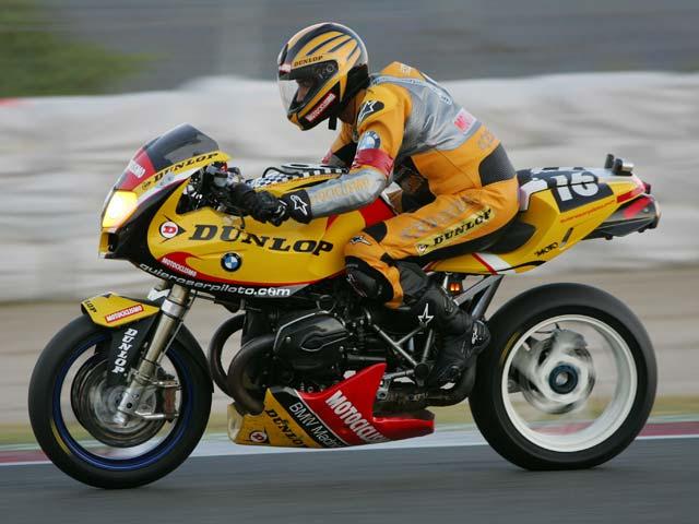 Quiero Ser Piloto, con Dunlop, BMW y Motociclismo