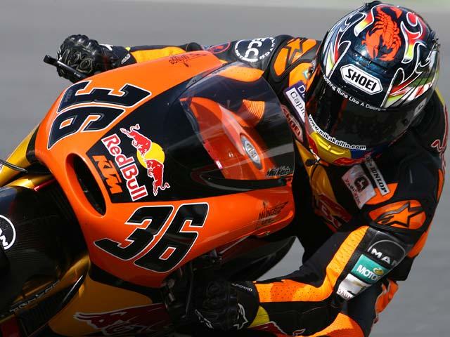 KTM, con seis motos en la parrilla de 125 cc en 2008