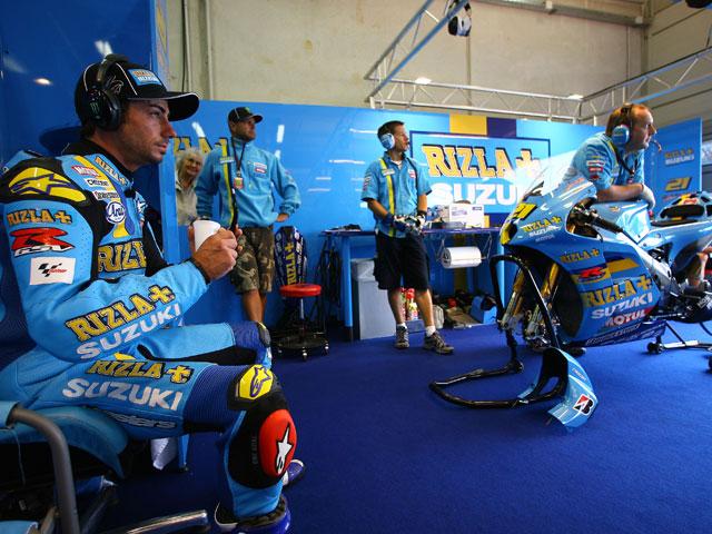 Schwantz busca la fórmula de entrar en MotoGP