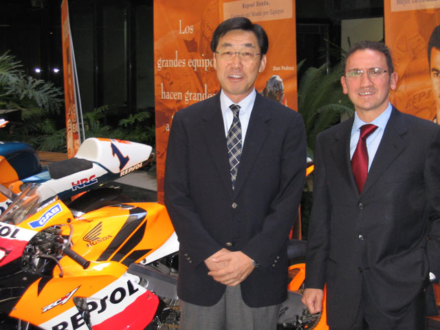 Honda y Repsol oficializan la renovación