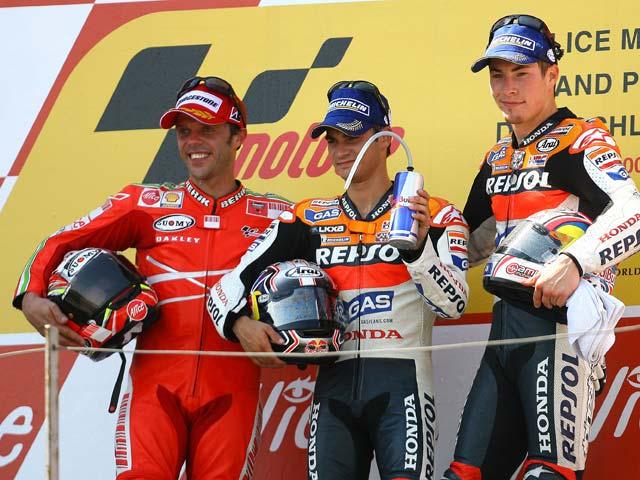 Capirossi dice adiós a Ducati
