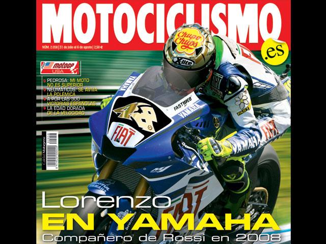 Lorenzo y Rossi compartirán box