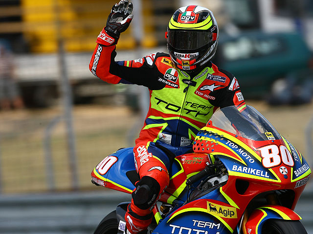 Lorenzo, a lo campeón