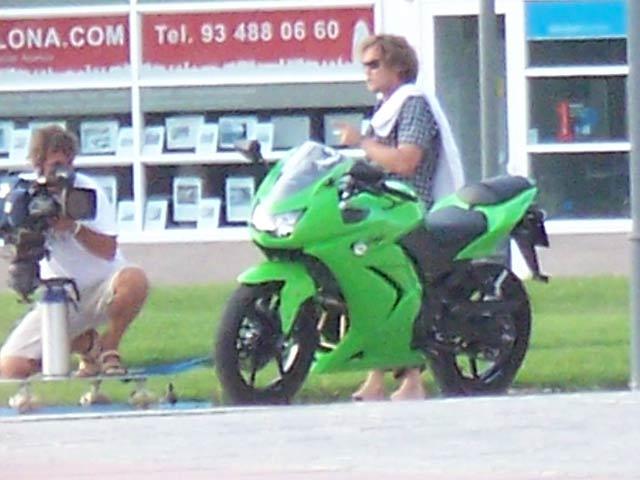 ¿Kawasaki Ninja 250? Fotos espía